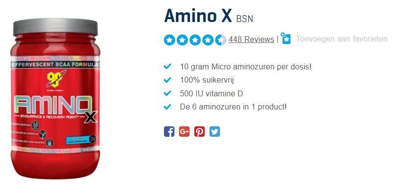 beste aminozuren