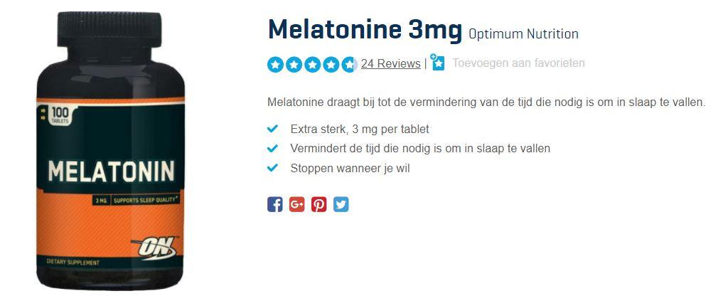 beste melatonine
