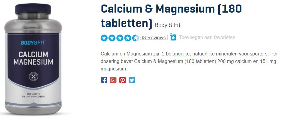 beste magnesium supplement