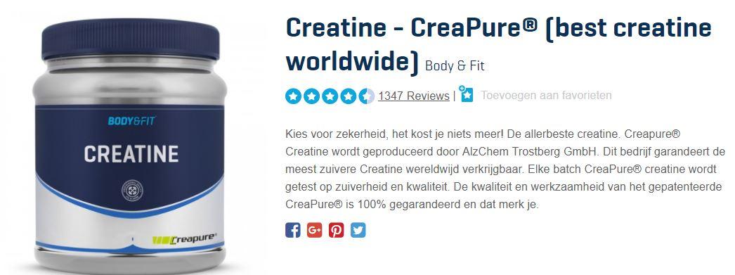 wat is creatine