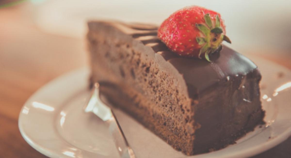 koolhydraatarme chocoladetaart