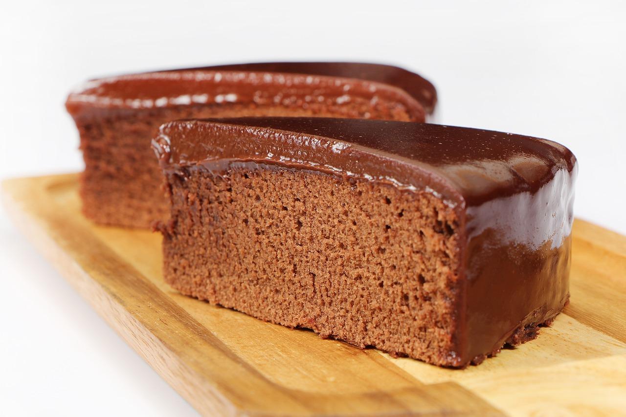 koolhydraatarme chocoladecake