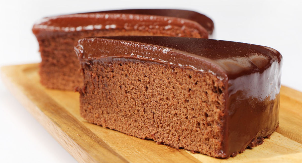 koolhydraatarme chocolade cake