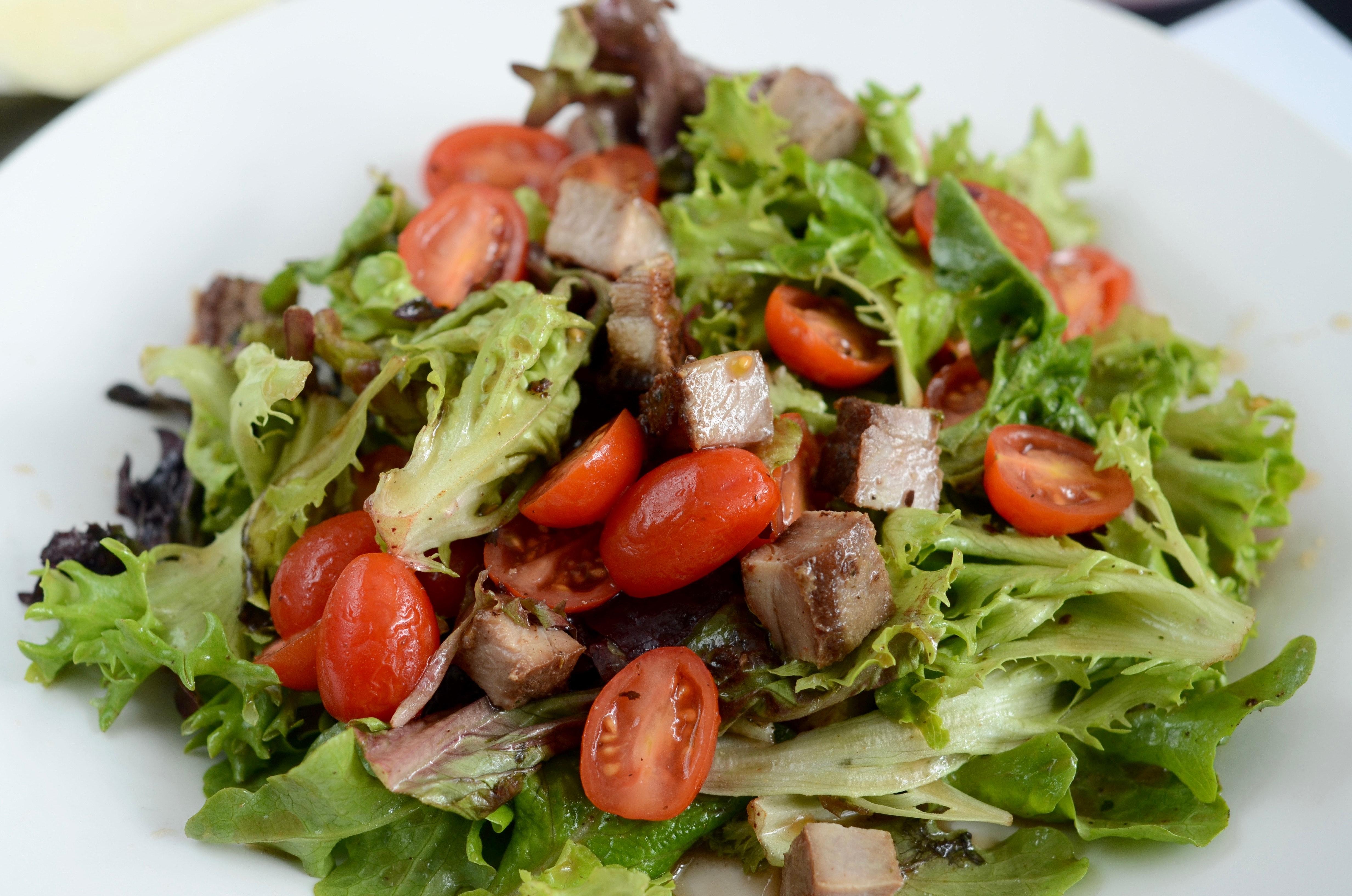 salade met tonijn uit blik