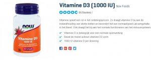 beste vitamine D3