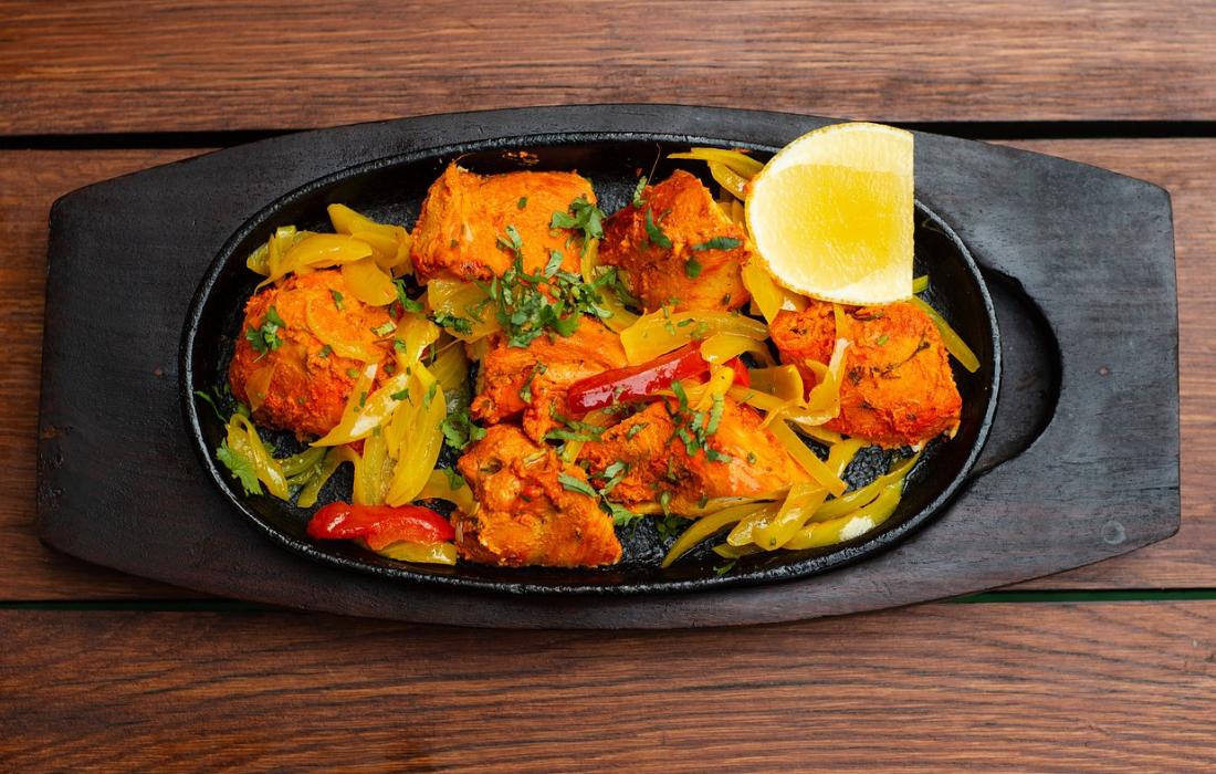kip tandoori met groente