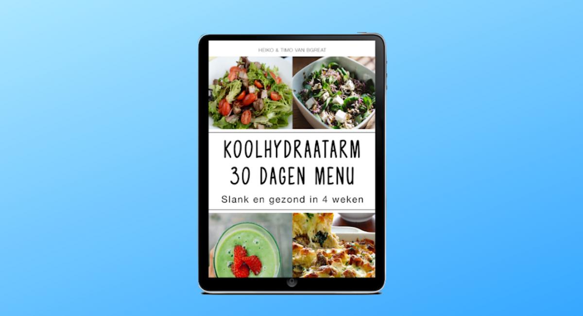 koolhydraatarm kookboek