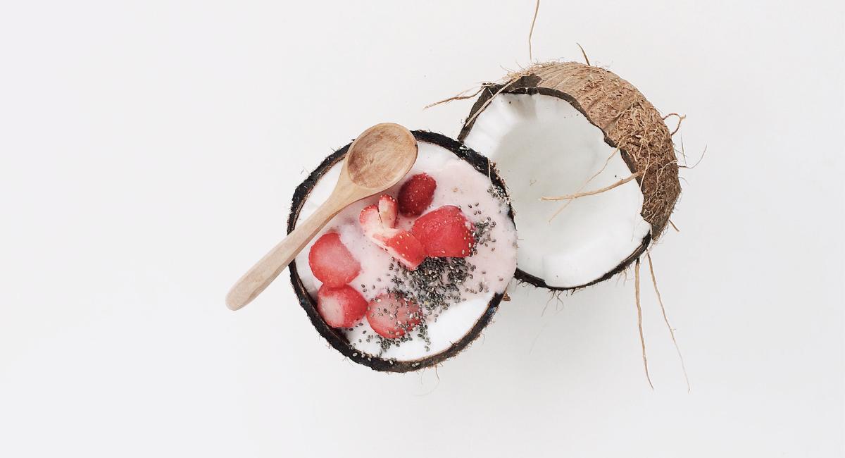 toetje met kokos
