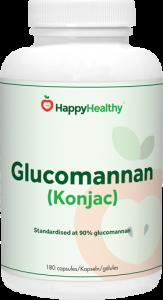 HappyHealthy Glucomannan dieet supplement
