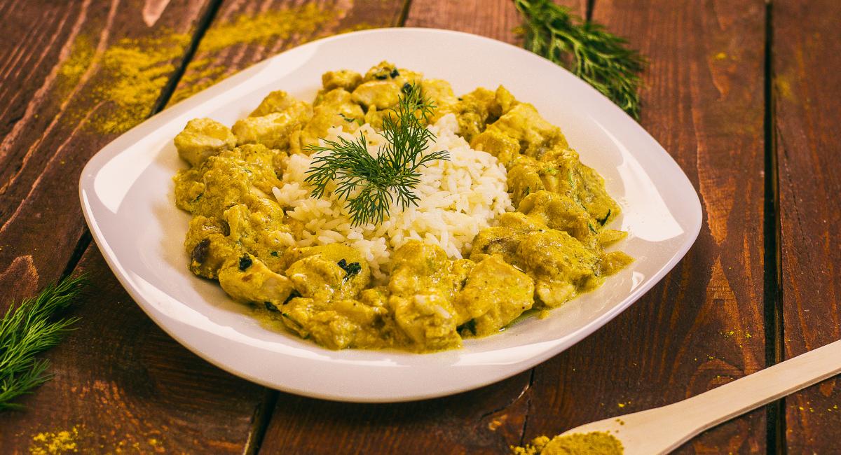 zelf kip curry maken