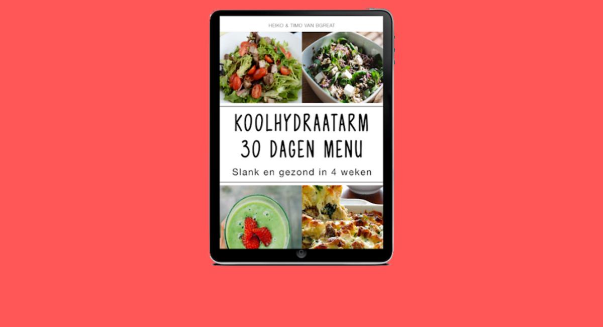 koolhydraatarm 30 dagen menu review
