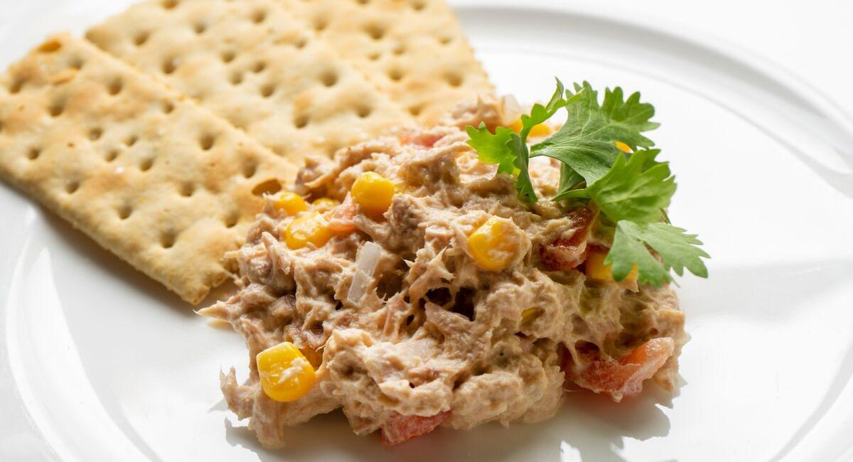 tonijnsalade voor op toast