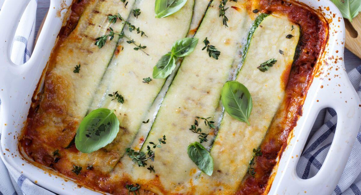 courgette lasagne koolhydraatarm