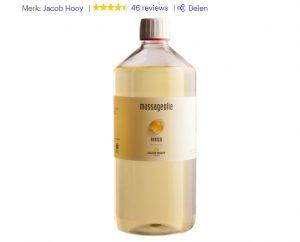 massage olie van jacob hooy