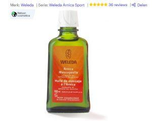 weleda arnica sport massage olie
