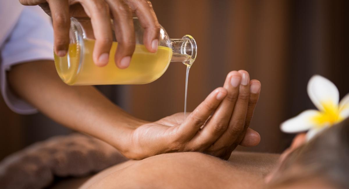 beste massage olie