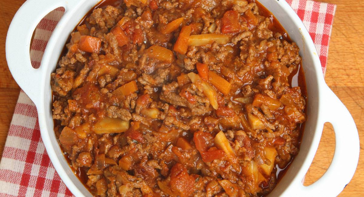 vegan bolognaise saus