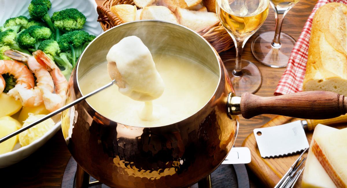 wat is lekker bij kaasfondue