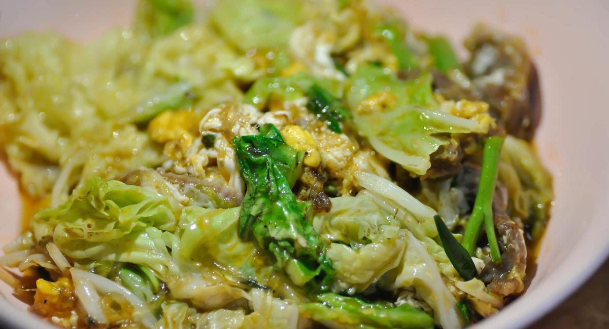spitskool wok