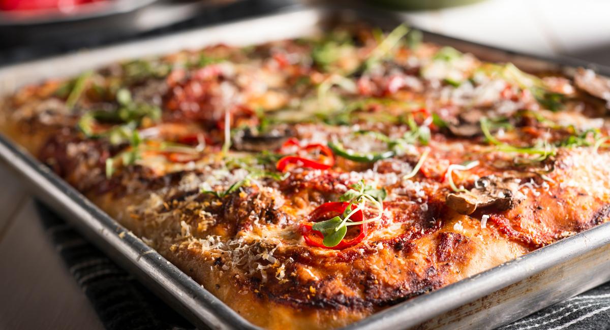pizza bakplaat
